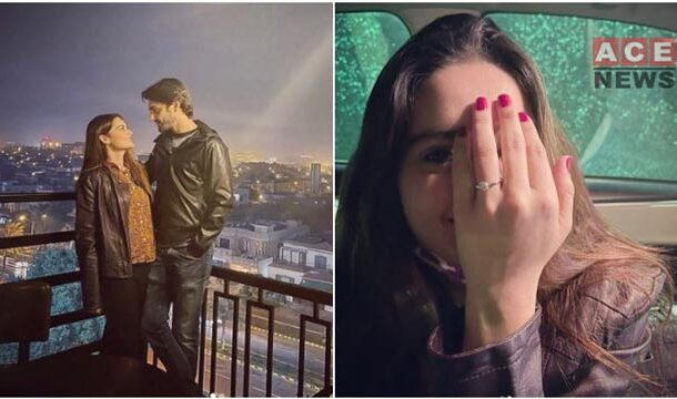 Minal Khan and Ahsan Mohsin Ikram Declare their Engagement