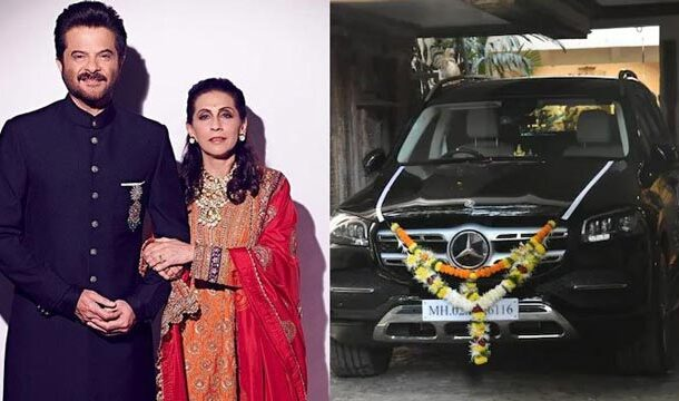 Sunita Kapoor's Birthday, Anil Kapoor Presents Her with a One-Crore Mercedes Car