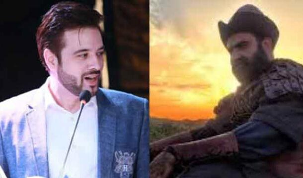 Mikaal Zulfiqar Greets the Cast of 'Ertugrul