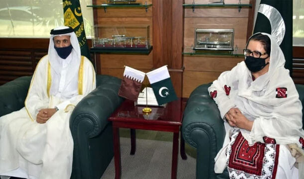 Qatari Ambassador Meets with Minister for Defence Production Pakistan