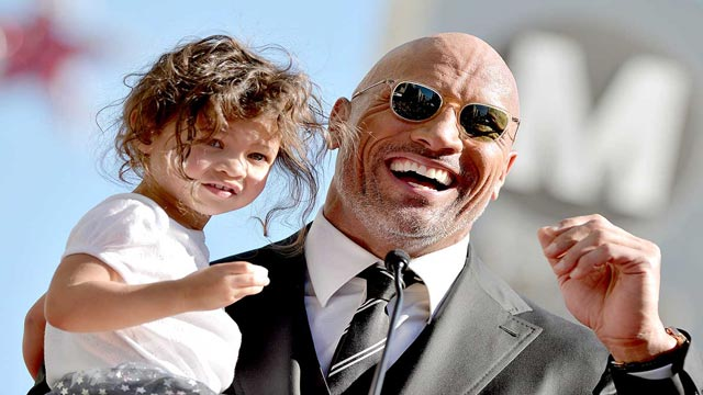 Dwayne Johnson's Youngest Daughter Shares An Adorable Video