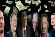 American Billionaires Add $1.62 Trillion to Their Wealth in Last One Year