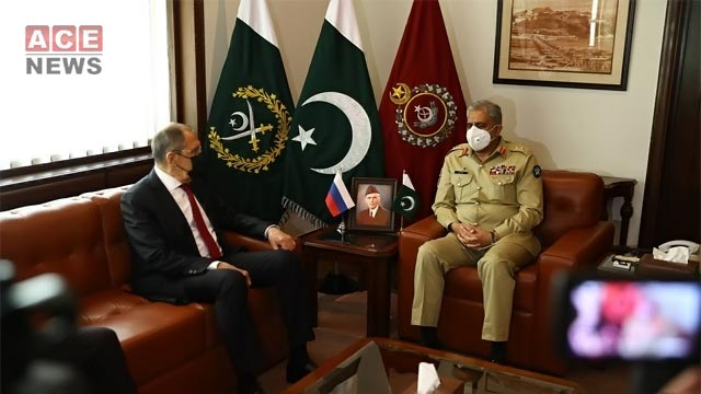 Russian FM Meets with COAS Bajwa: ISPR