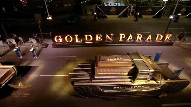 """What is """"Pharaohs' Golden Parade"""" in Egypt 