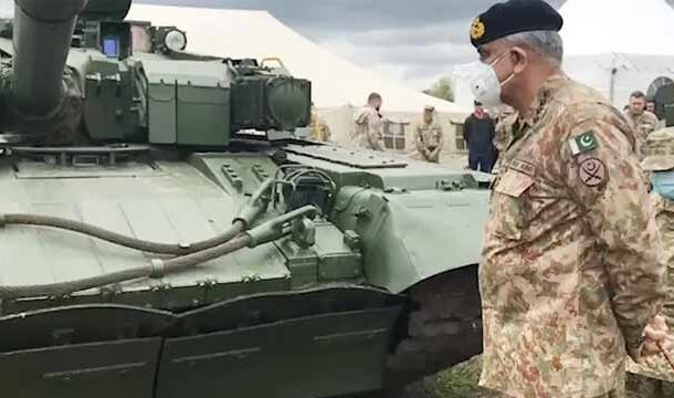 Army Chief Visits Sialkot, Kotli to Attend Closing Session of Corps Level War Game