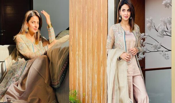Saba Qamar Keeps Treating Fans with Post-Eid Pictures