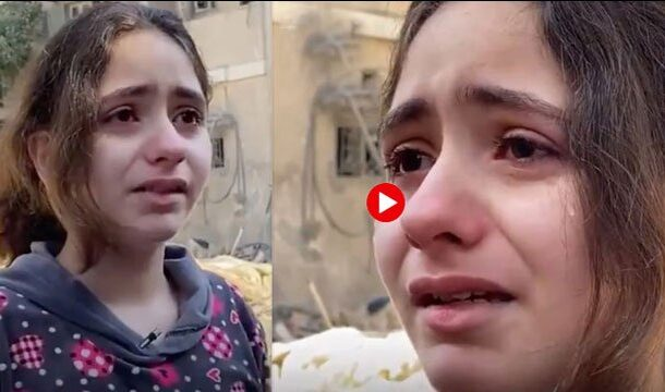 'It's Not Fair' Palestinian Girl Shares Her Distress Living in Gaza