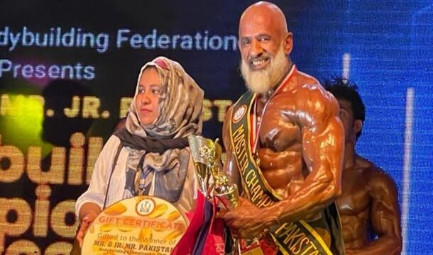Bodybuilders Will Be Inspired By This 60-Year-Old Pakistani Man