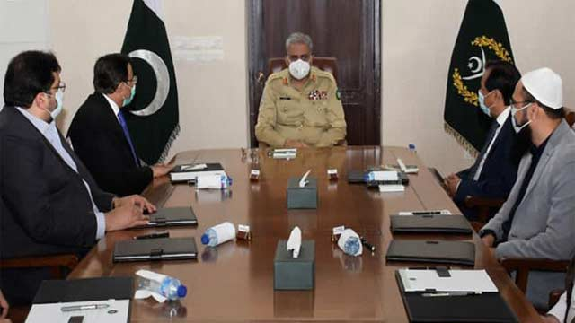 Army Chief Meets with Business Community, Assured Full Support: ISPR