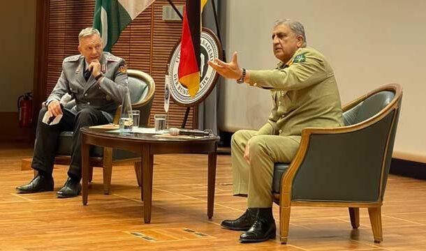 COAS Bajwa Discussed Afghan Peace Process with German Foreign Minister: ISPR