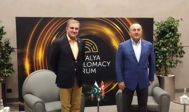 FM Qureshi Discuss Afghan Peace Process with His Turkish Counterpart