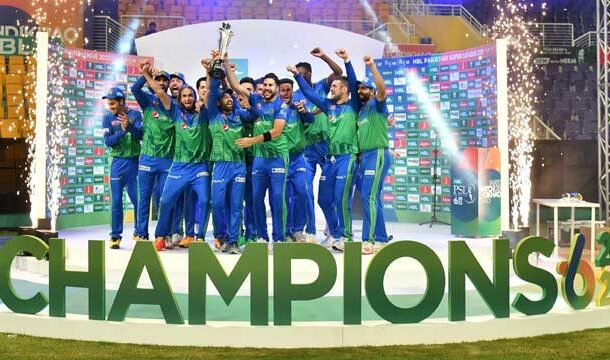 Multan Sultans Becomes Champions of PSL-6