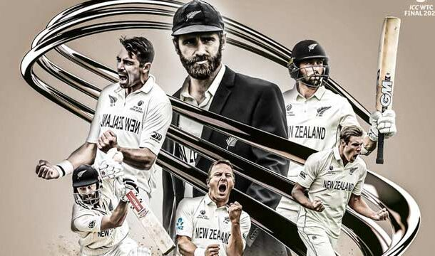 New Zealand Becomes WTC by Defeating India by 8 Wickets