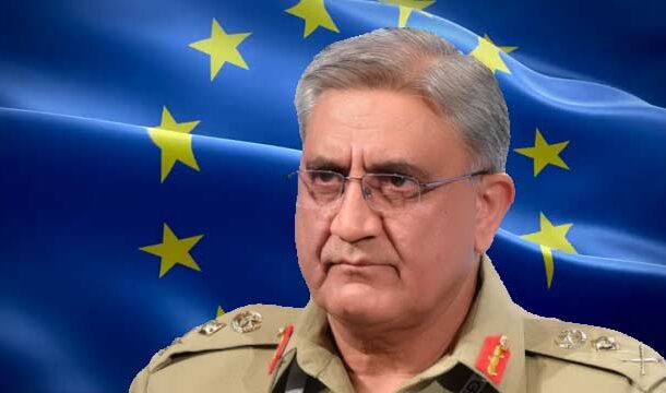 COAS Bajwa Discussed Afghan Peace Process with Chairman of EUMC: ISPR