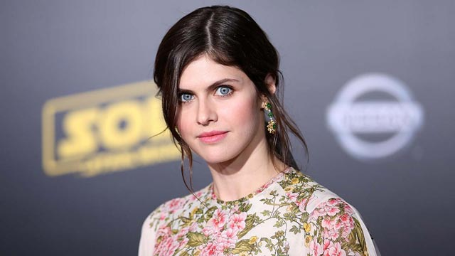 Alexandra Daddario Walks the Red Carpet with Friends and Looks Gorgeous