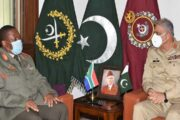South African National Defence Forces Chief Called on COAS Bajwa: ISPR