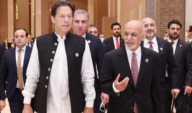 PM Imran Khan and President Ashraf Ghani Discussed Current Situation of Afghanistan