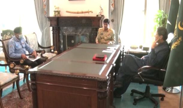 PM Imran Khan and the Inspector General of Islamabad Talk About Usman Mirza's Arrest Case