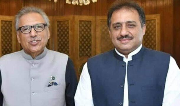 President Arif Alvi Appoints Zahoor Ahmed Agha as the New Governor of Balochistan