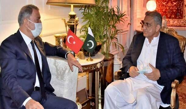 National Defence Minister of Turkey Called on COAS Bajwa: ISPR