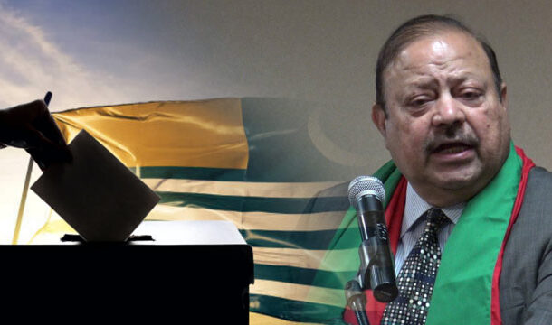 Barrister Sultan Mehmood Chaudhry Elected President of Azad Jammu Kashmir