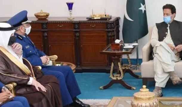 Saudi Armed Forces Chief Called on PM Imran Khan
