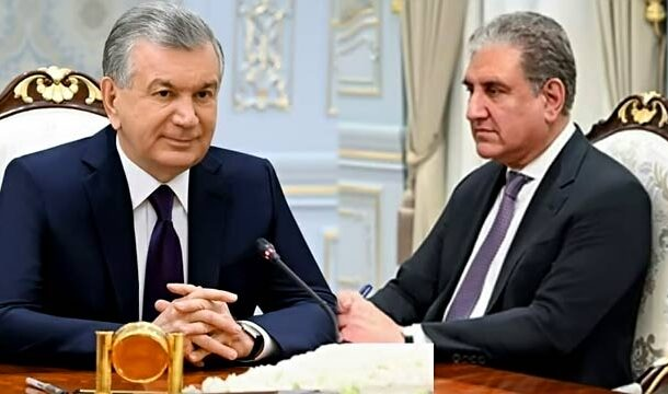 FM Qureshi Called on Uzbek President to Discuss Situation of Afghanistan