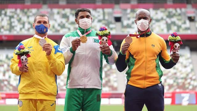 Pakistani Athlete Haider Ali Wins Gold Medal in Paralympic Games