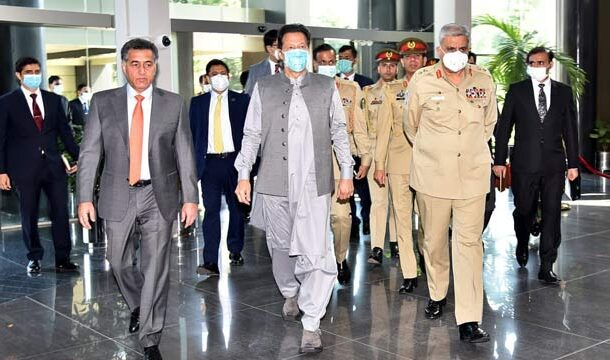 PM Imran Khan Visited ISI Headquarter Appreciated Spy Agency's Diligent Efforts for National Security