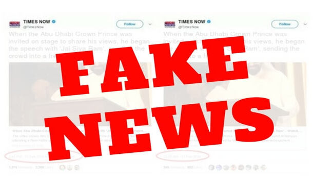 India Emerged as Biggest Center Spreading Fake News