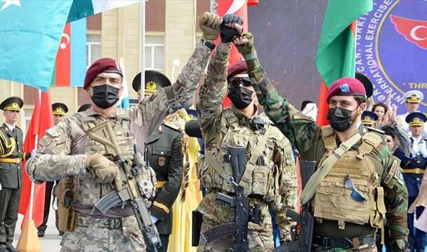 'Three Brothers 2021' Military Drill Participated by Forces of Pakistan, Turkey and Azerbaijan Culminated: ISPR