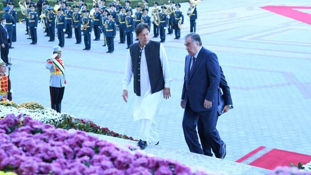 PM Imran Khan and Tajik President Agreed to Find a Way to Peace in Afghanistan Through Dialogue