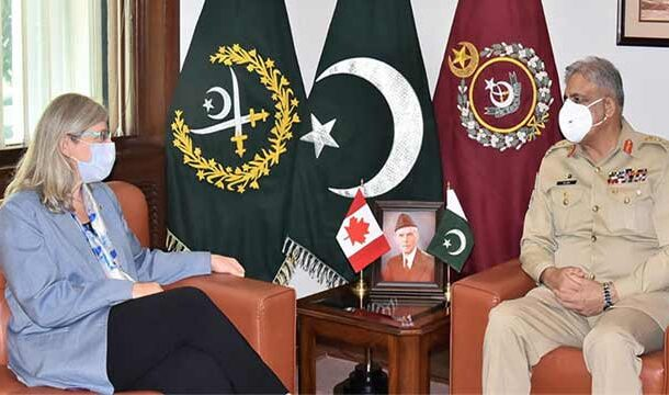 COAS Bajwa Discussed Afghan Situation with Canadian High Commissioner Wendy Gilmour: ISPR