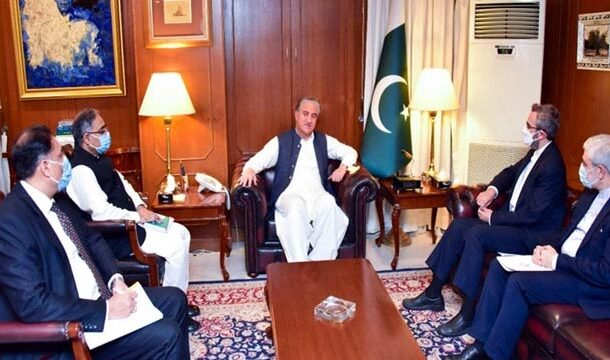 FM Qureshi Thanked Iran for Its Steadfast Support on the Kashmir Dispute