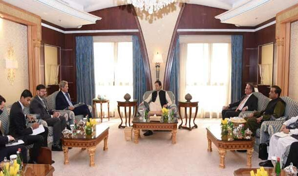 PM Imran Khan Met with the US Special Envoy for Climate John Kerry