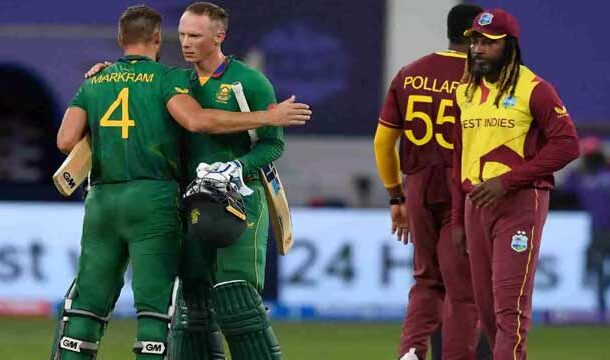 ICC T20 World Cup: South Africa Defeated West Indies by 8 Wickets